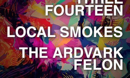 Dec. 16th @ Bourbon & Branch with Local Smokes and The Ardvark Felon