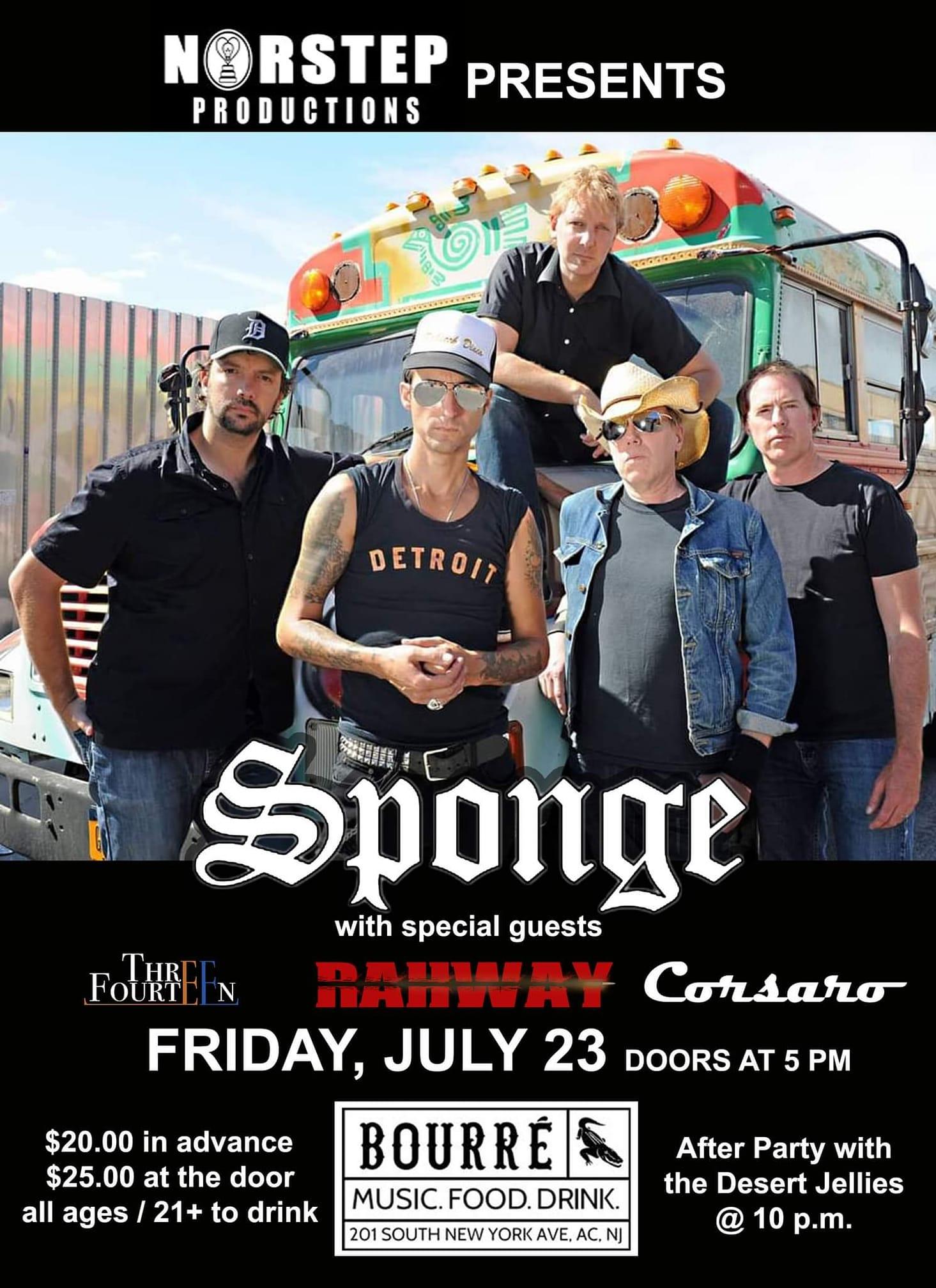 Three Fourteen at Bourre Atlantic City on 7/23/21
