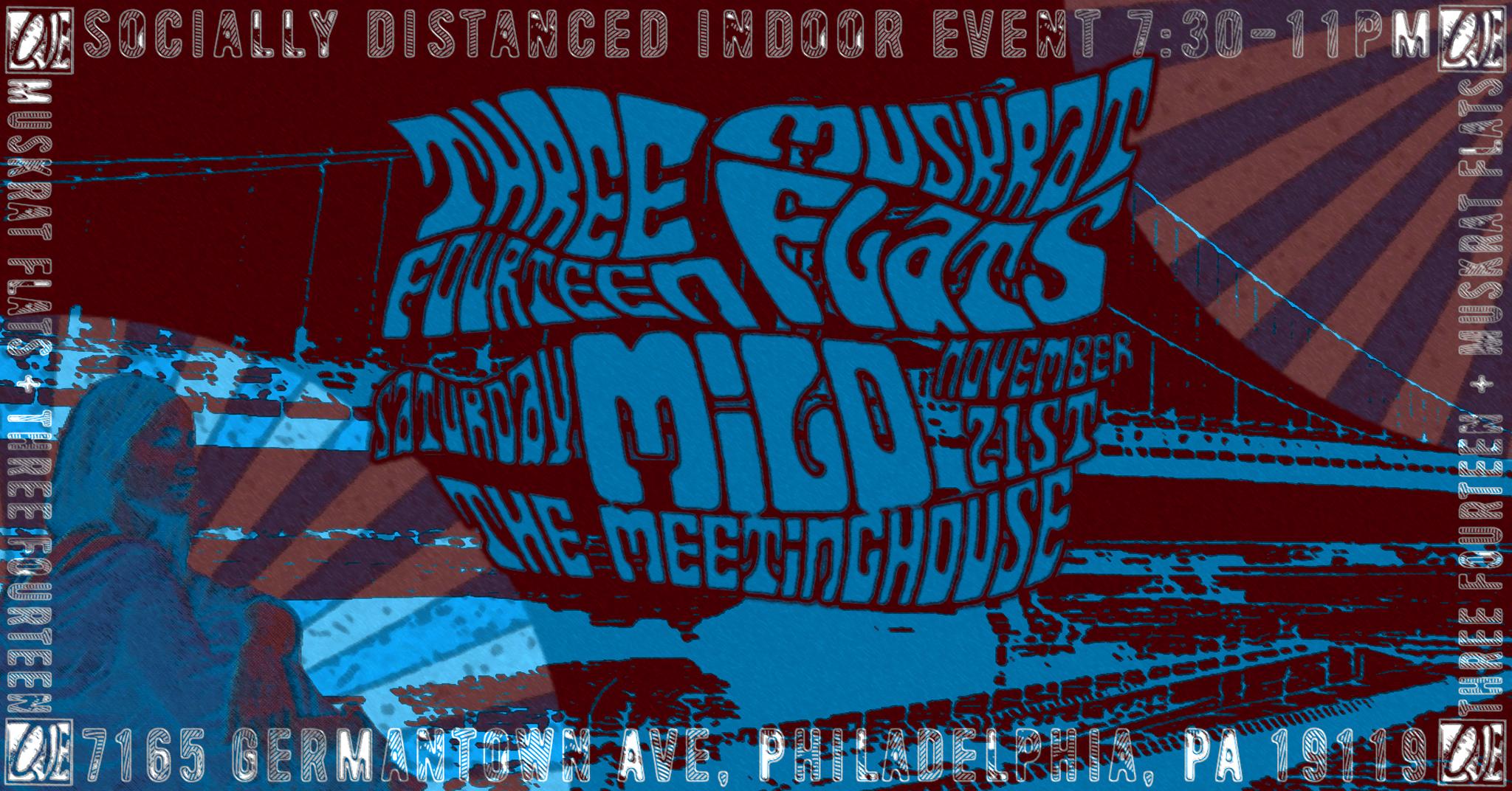 Three Fourteen + Muskrat Flats in Philadelphia on 11/21/20