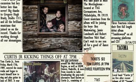 Three Fourteen Debut Album Release Show w/ Curtis Jr. 4/17/21